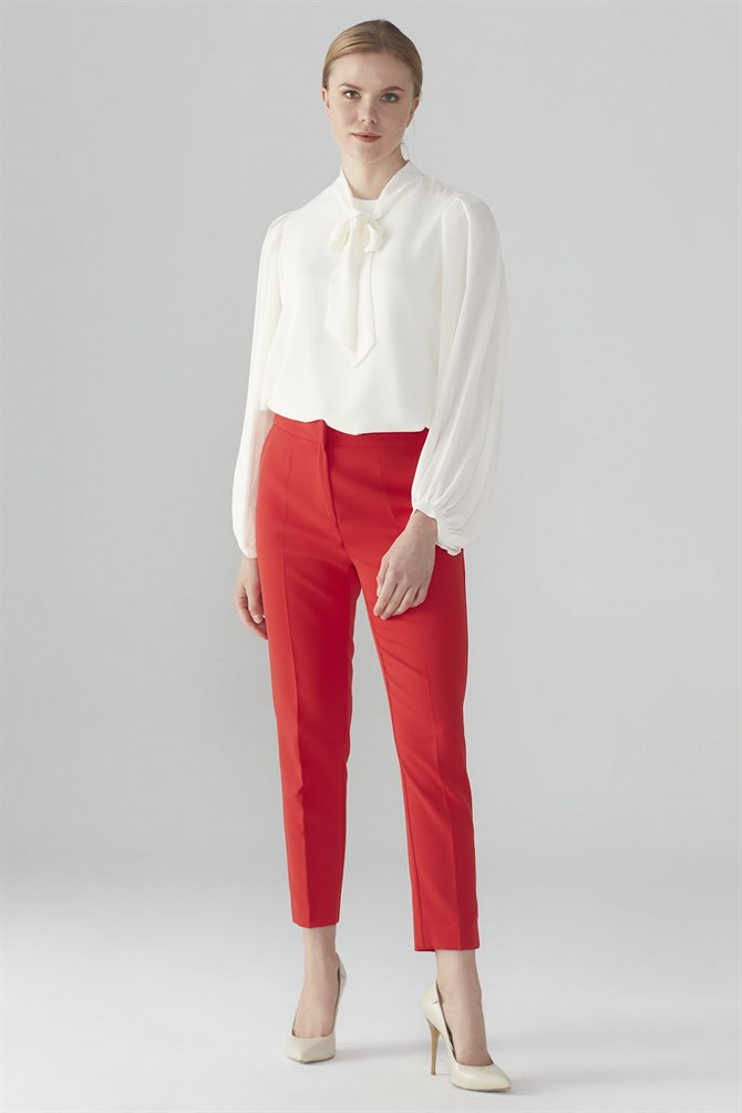 Zühre Pants Red P-0024