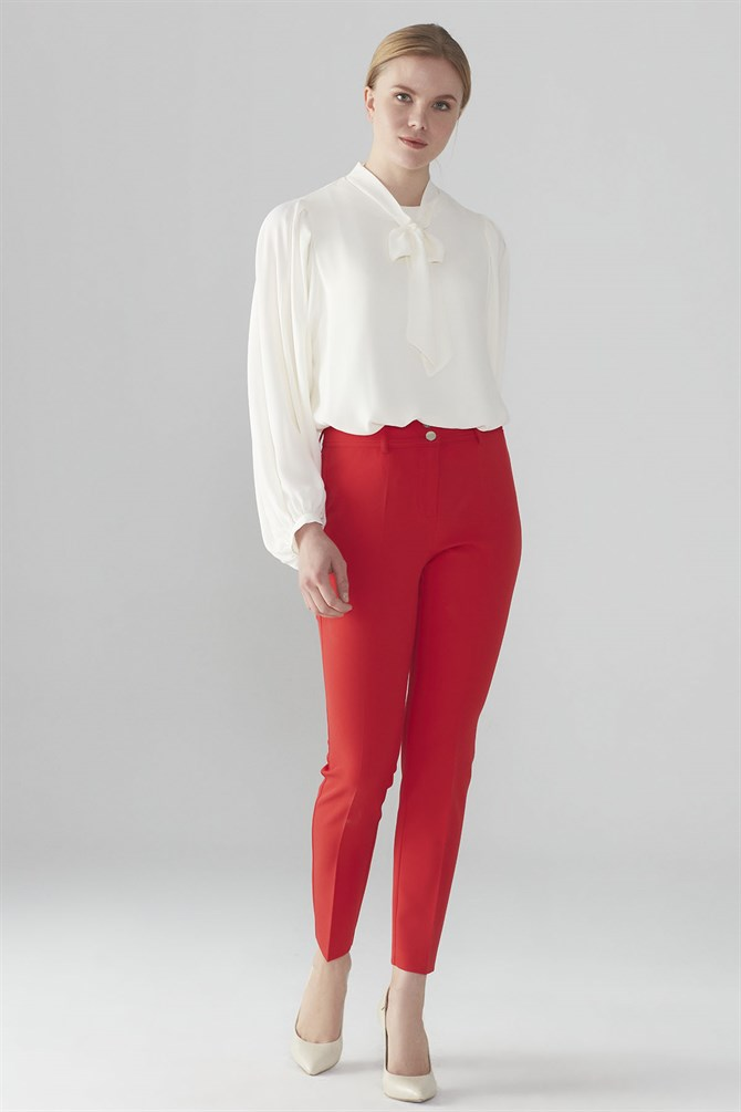 Zühre Pants Red P-0078