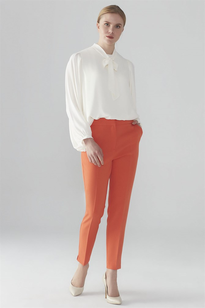 Zühre Pants Orange P-0024