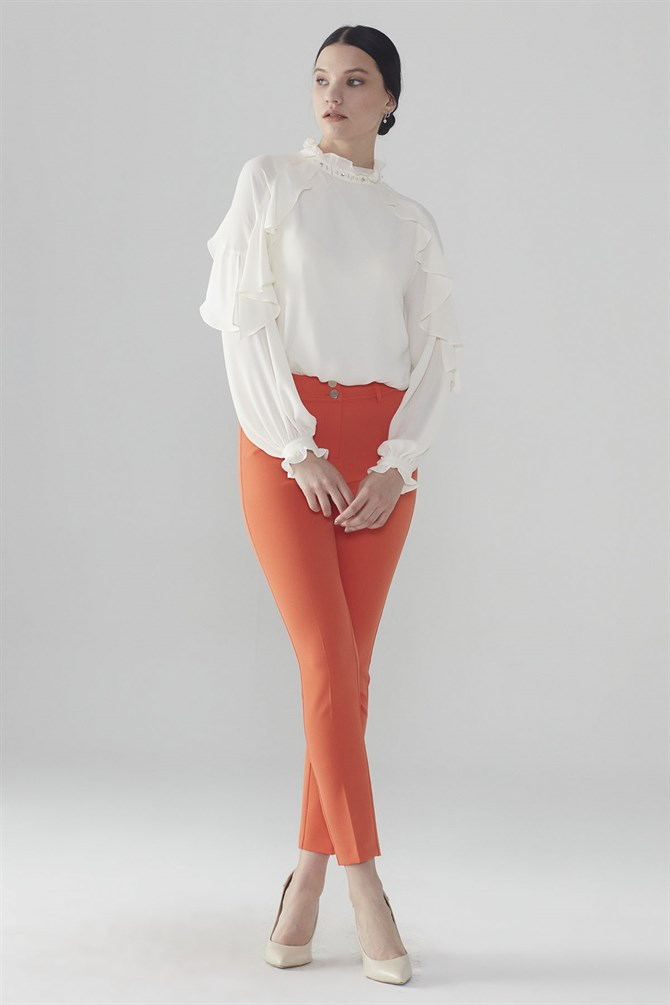 Zühre Pants Orange P-0078